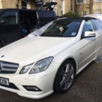 Mercedes E Class About to be repaired