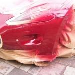 Maserati resprayed panel