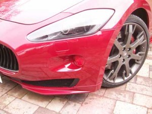 Maserati Repaired Bumper As New